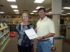 Cathy Johnson Receives Micro Grant on Behalf of Friends Group