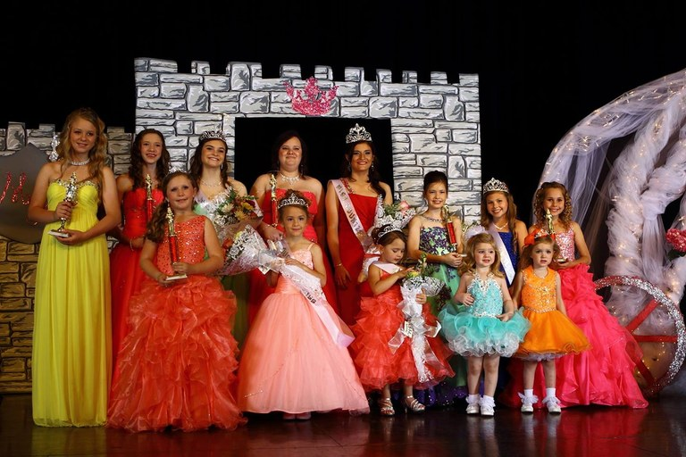 Miss Kountze Winners 2015