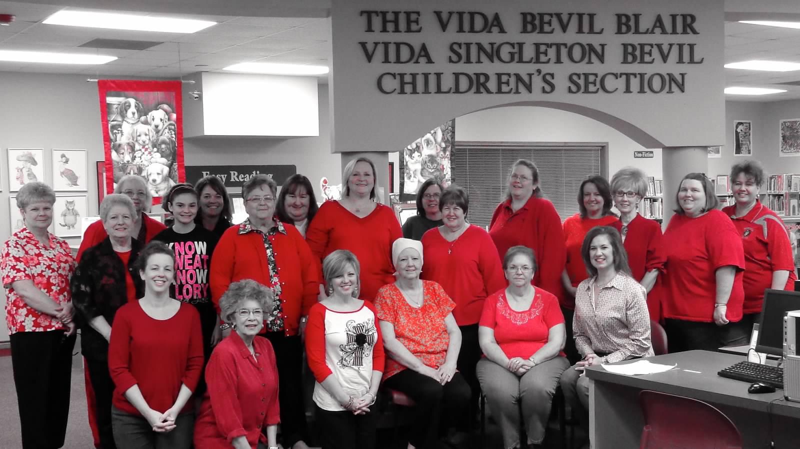 WC of Kountze Wear Red for Women's Heart Health Awareness